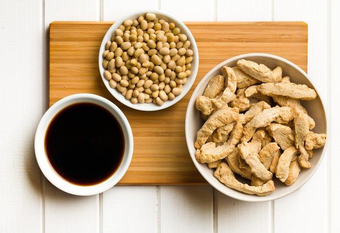Соя и продукты из сои