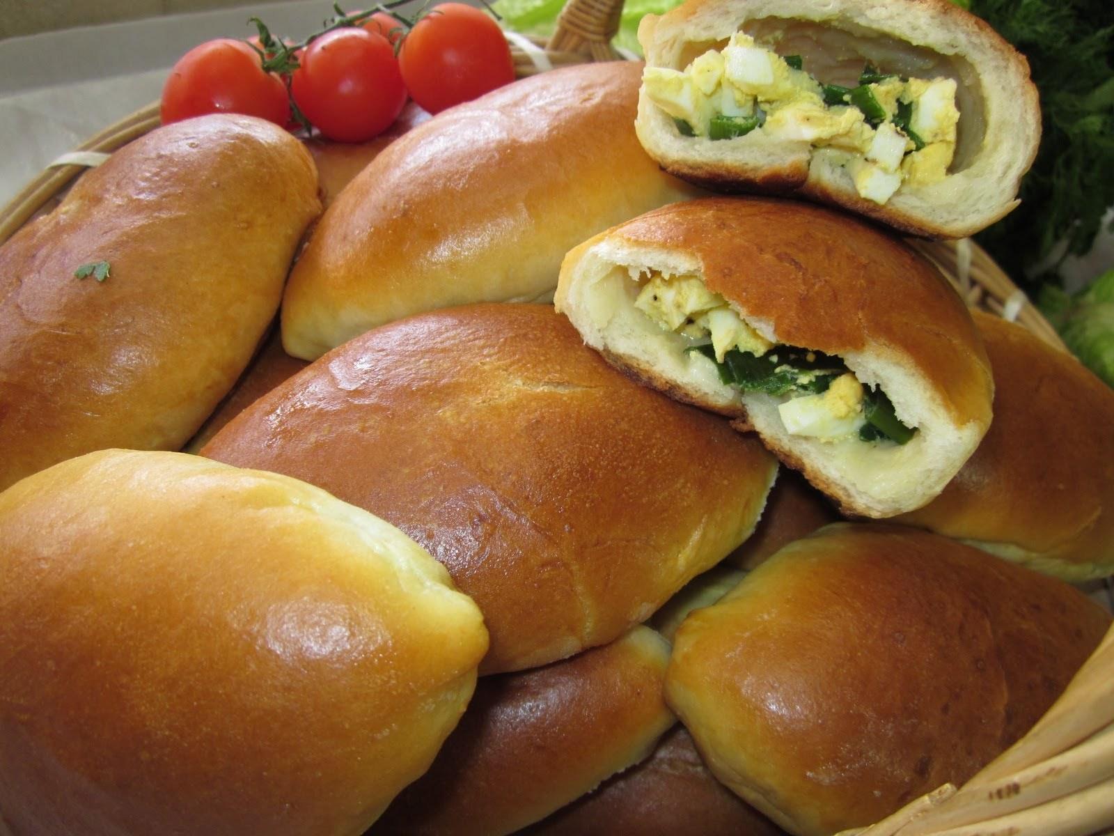 Рецепты вкусных пирожков с пошаговым фото