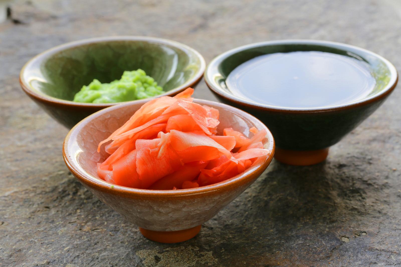 что соусы для суши картинки семью при