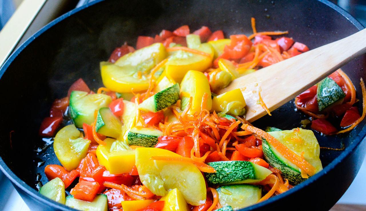 интересно, картинка тушеные овощи пусть течет